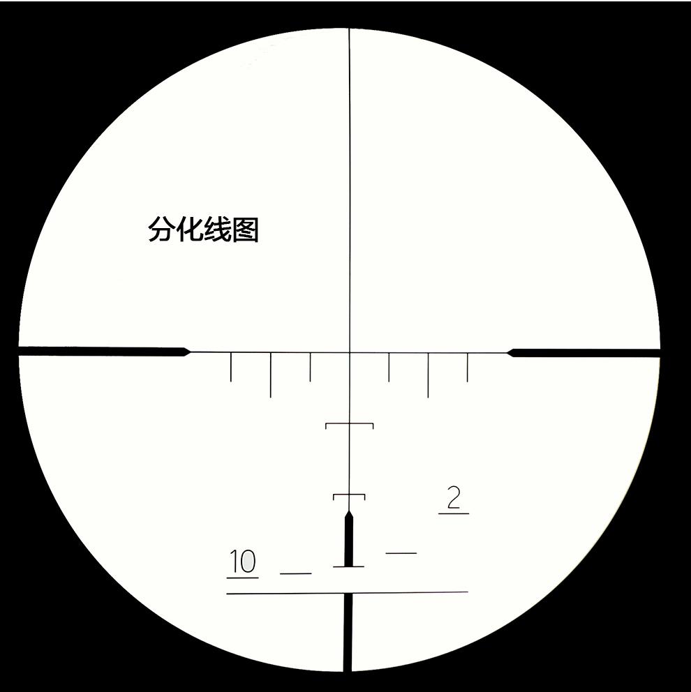 康达ss2 4x21ao短款军用分化瞄准镜